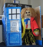 The Sixth Doctor by Wolverinegal