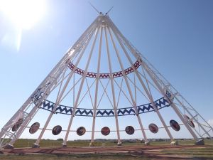 Worlds Largest Tipi by Grumpol