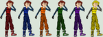 Taser Laser, Jason Terrell (Outfit colours) by LevelInfinitum