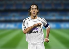 Raul Real Madrid by Shyphex