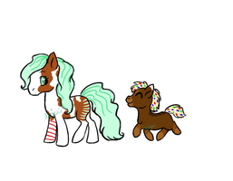Cocoa Ponies by krizpie