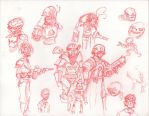Cities of Lead - Doodles by HJTHX1138