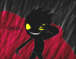 my demon character by kevinskylet111999
