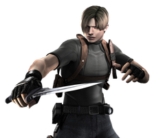 Leon Scott Kennedy Render 2 by snakeff7