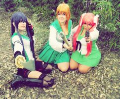 Highschool of the dead Girls by LadyNoa