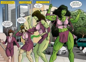 she hulk by kingdurant23