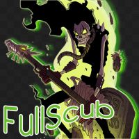FullScubb avatar in Youtube and Deviantart by FullScubb