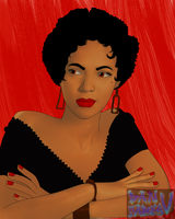 dorothy dandridge by DANJAMESV