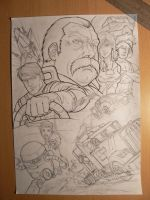 M.A.S.K. sketch by FranciscoETCHART