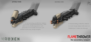 a weapon concept design for the HAWKEN by nobody00000000