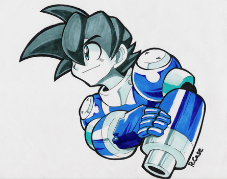 MegaMan Volnutt by rongs1234