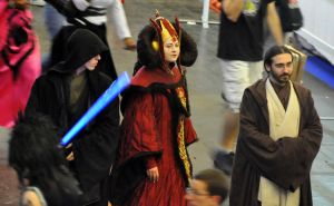 Queen Amidala ~Her Majesty and her Jedis Bodygards by Kaori-prod