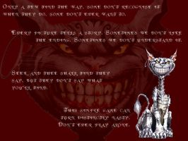 Cheshire Cat by occultsearcher