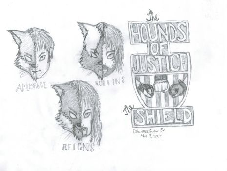 Hounds Of Justice: The Shield by DrummerGurl-JV