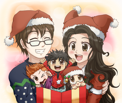 Second Family Christmas by Assechan
