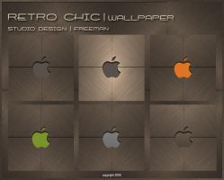Studio Design-Retro Chic Apple by iAmFreeman