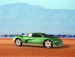 Bentley Hunaudieres Concept by peregrhino
