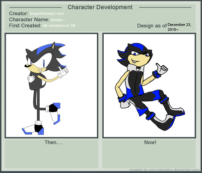 Character Development Meme by inuyashacrazy1