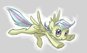 pegasister doodle by PrecosiousChild