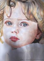 watercolor baby by mady21v
