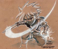 YOUNG KAKASHI by BROWN73