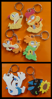 Moar Keychain Commissions by SoftMonKeychains