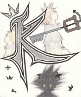 K is for Keyblade by FurFurTheFurryMouse