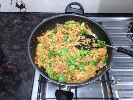 How I make fried rice 2 by CrissyG