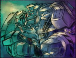 Lugnut and Megz by Aiuke