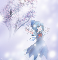 Cirno 2 - Beloved Ice Fairy by anonamos701