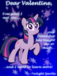 Twilight Sparkle Valentine's Day Card by AleximusPrime