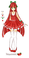 Adoptable- Strawberry [Open] by xStarrii