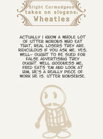 Slight curmudgeon:Wheaties by AndHeDrew