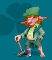 Leprechaun by borogove13