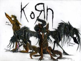 KoRn As Wolves by LittleSkrillexKid
