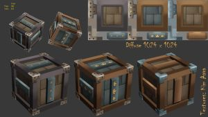 Steel Crate by Mad-Owl