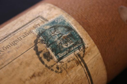 old stamp by soligblomma