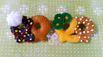 Pretzel Pin Brooches FOR SALE by UltraPancake