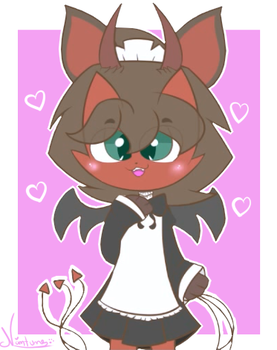 ~Maid Rex by Nini-the-kitty