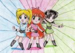 Chibi Powerpuff Girls by MercuryH09