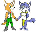 Cute Couples: Fox Krystal by Trey-Vore