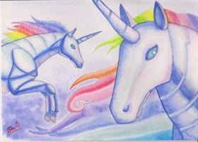 HARMONY - Robot Unicorn Attack by Drag0n-Mistr3ss