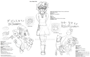 Digimon Universe: Appli Monsters OCs by Icyi