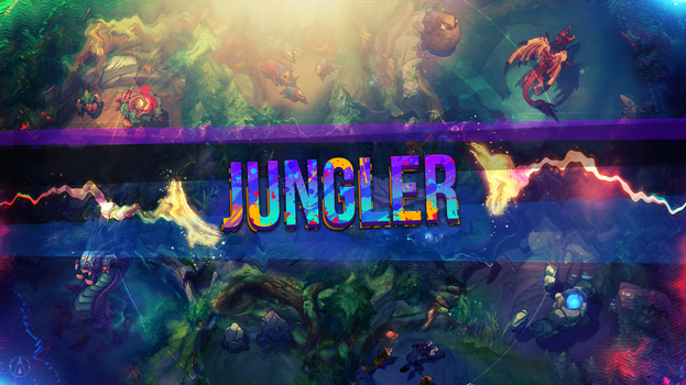 Wallpaper Jungler 2 - League of Legends by Aynoe