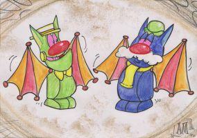 Batty Bats by Granitoons