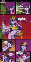 .Comic 14: A Look To The Future. by ZSparkonequus