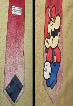 Official Nintendo Mario Necktie by avaneshop