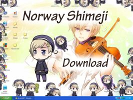 Norway Shimeji by HetaGarnet