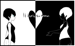 It Hurts You Know by OrenjiiBUTT