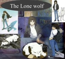 the lone wolf kiba by deathineverything065